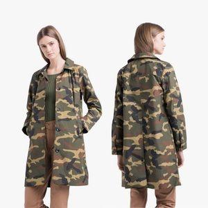 Herschel Women's Mac Jacket Woodland Camo